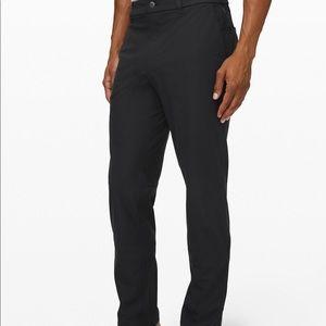 Lululemon dark gray 100% polyester 34 pants short